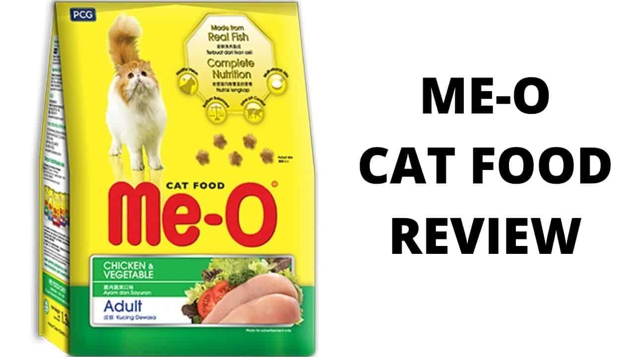 ME-O CAT FOOD REVIEW